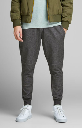 Sporty dark grey sweatpants from jackjones.com