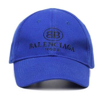 Balenciaga blue baseball cap from farfetch.com