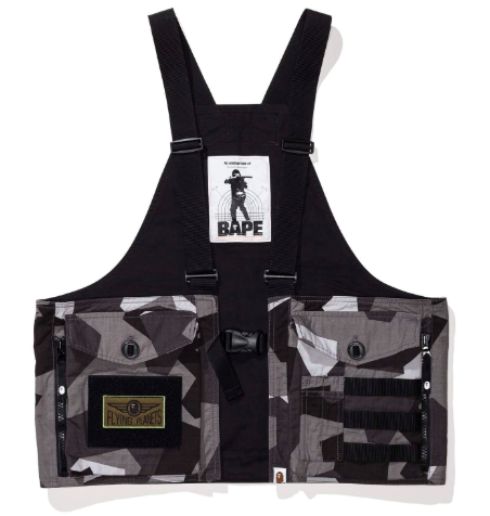 Bape vest from undefeated.com