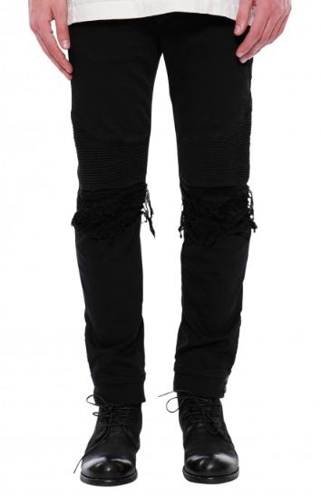 Black denim jeans from robinsjean.com