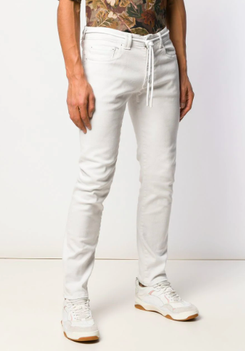 Off-white skinny jeans from farfetch.com