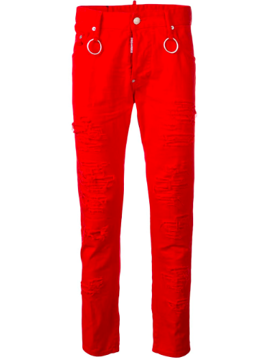 Dsquared2 skarer skinny jeans from farfetch.com