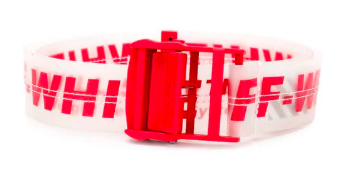 Off-white industrial belt from farfetch.com
