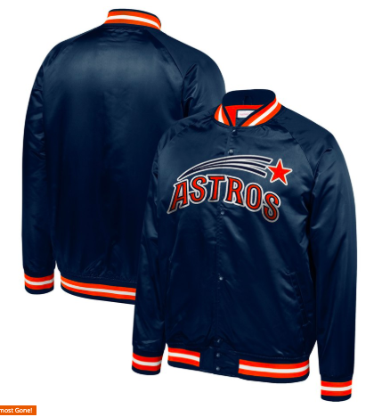 Houston Astros Mitchell & Ness Jacket from mlbshop.com