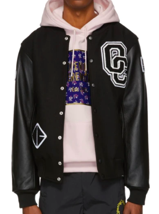 Black Classic Varsity Jacket from ssense.com
