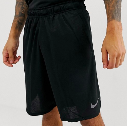 Nike Training dry 4.0 Black Shorts from asos.com