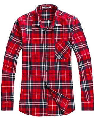 Men's Button Sleeve Shirt from amazon.com