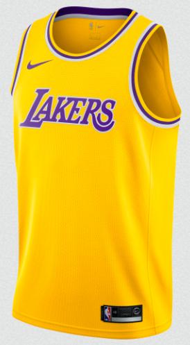 NIKE NBA LA LAKERS SHIRT from kicksmaniac.com