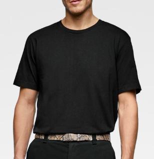 Basic Black T Shirt from zara.com