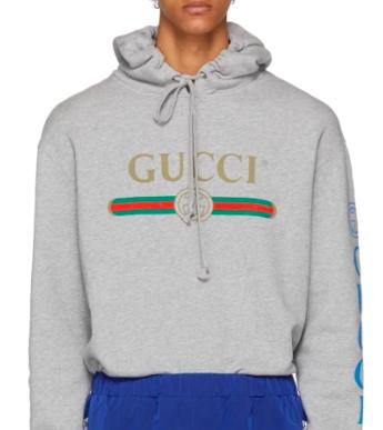 Grey Dragon Gucci Hoodie from ssense.com