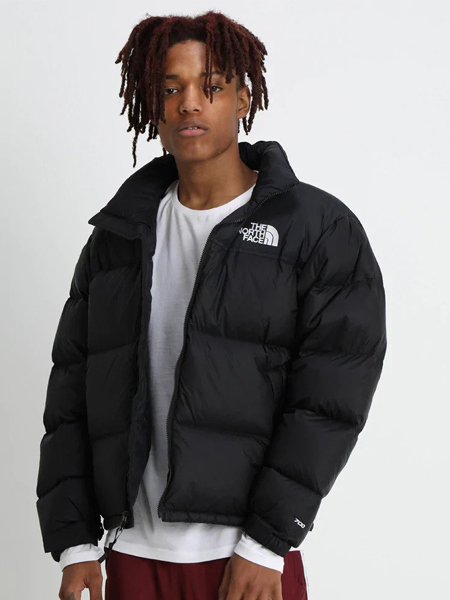 The North Face black puffer jacket from Zalando