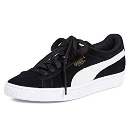 Puma suede classic black sneakers from shopbop.com