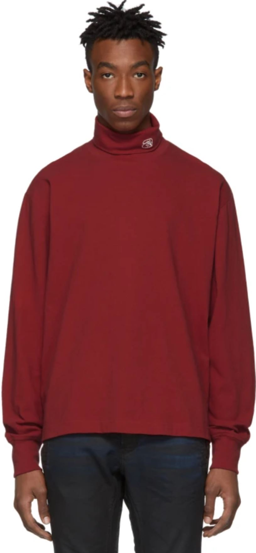 Red Turtleneck from ssense.com