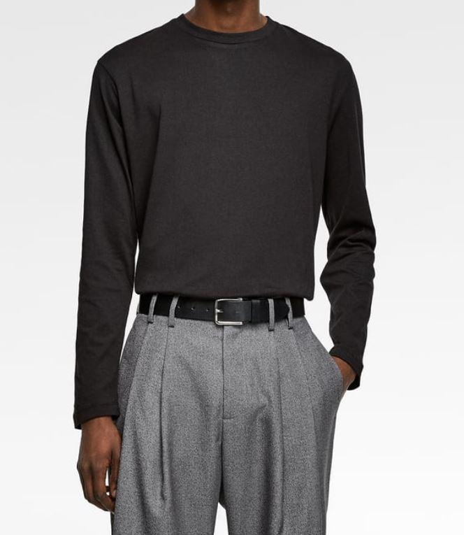 Black Long-Sleeve from zara.com