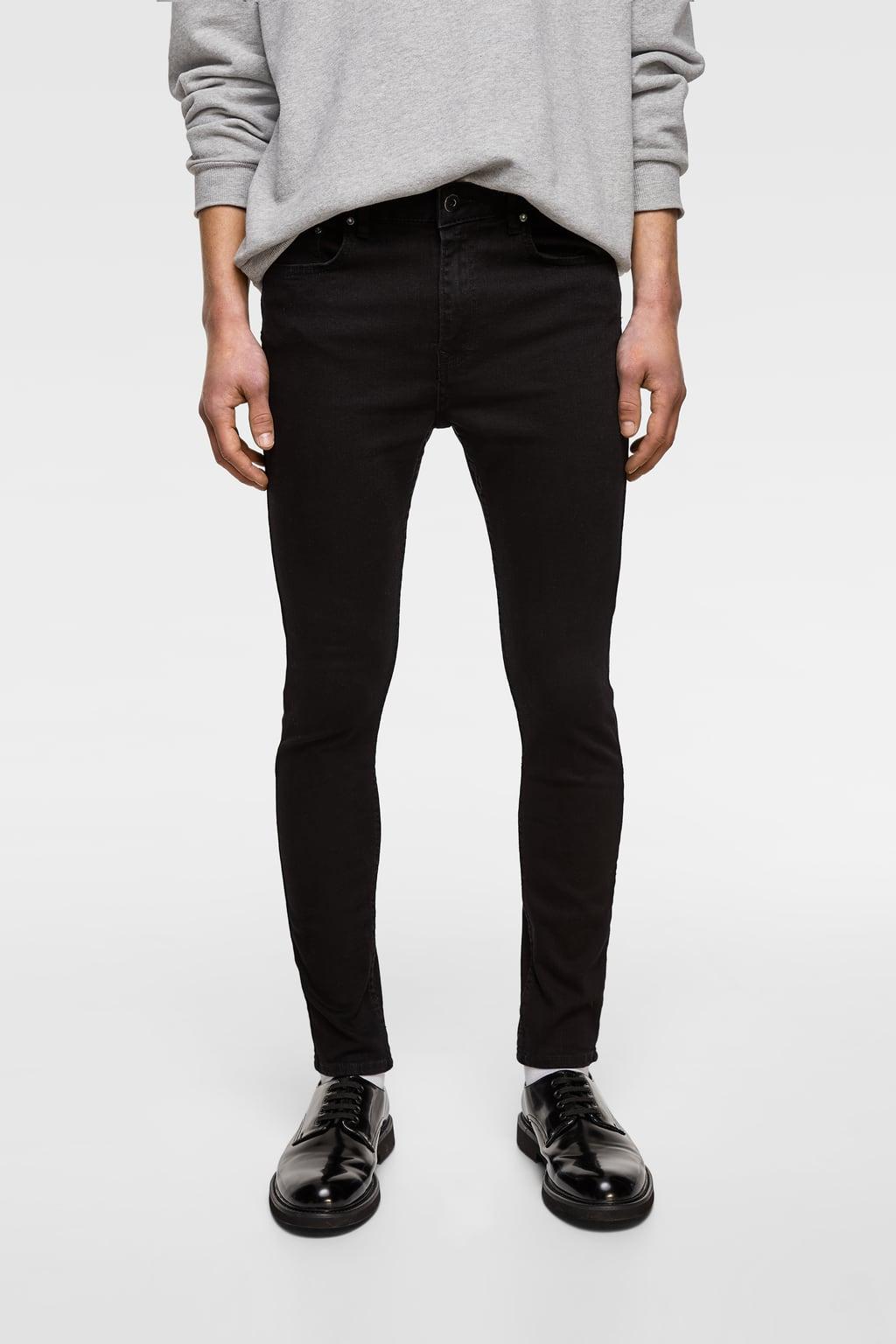 Skinny Black Jeans from zara.com