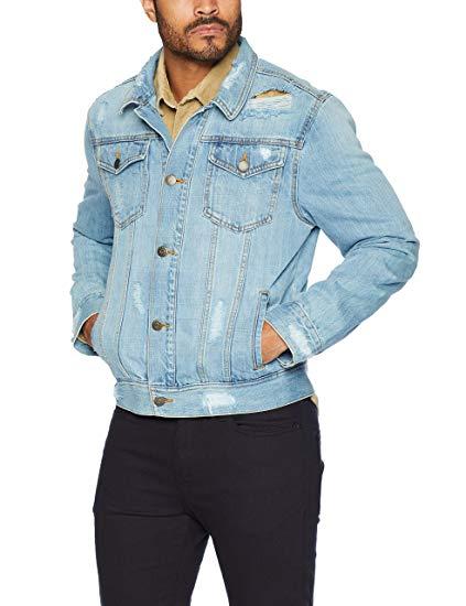 Distressed Denim Jacket form amazon.com