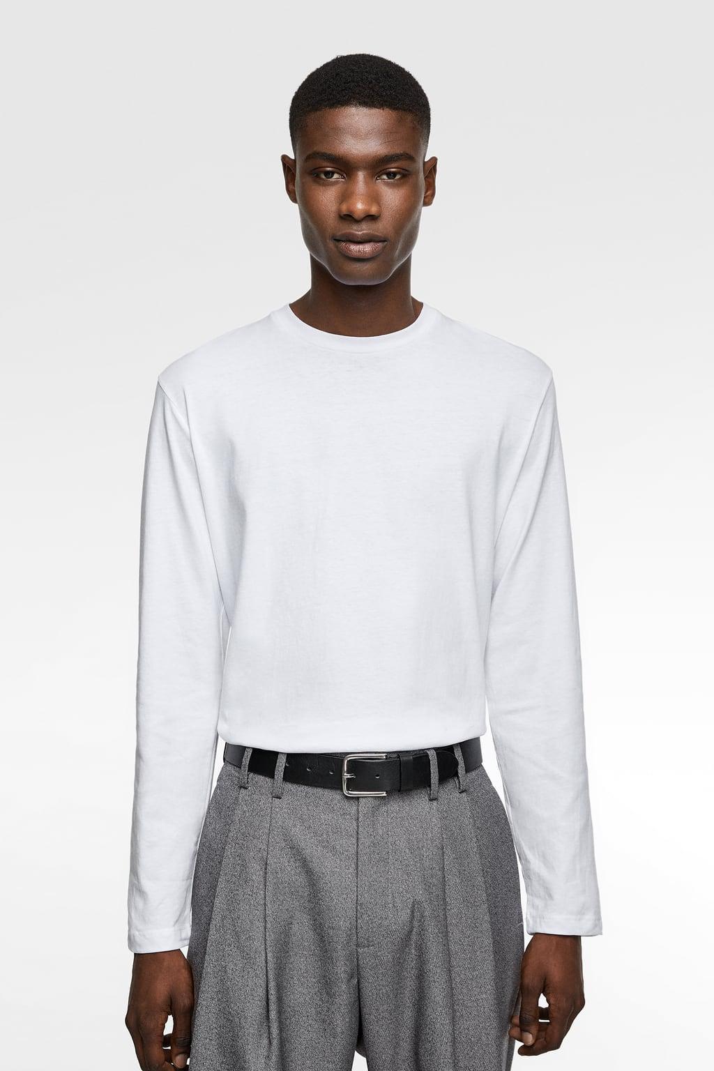 White Long-Sleeve from zara.com