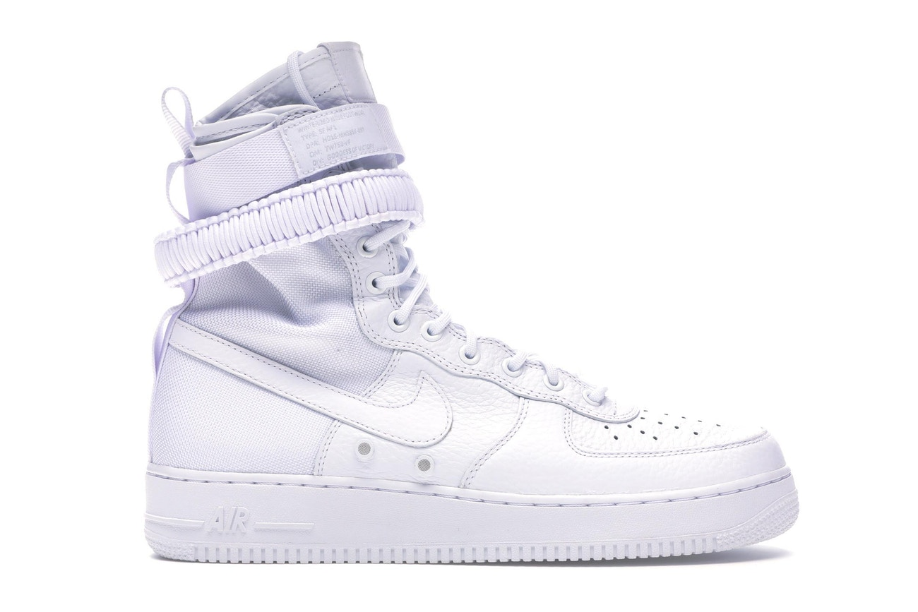 Nike Air Force 1s from stockx.com