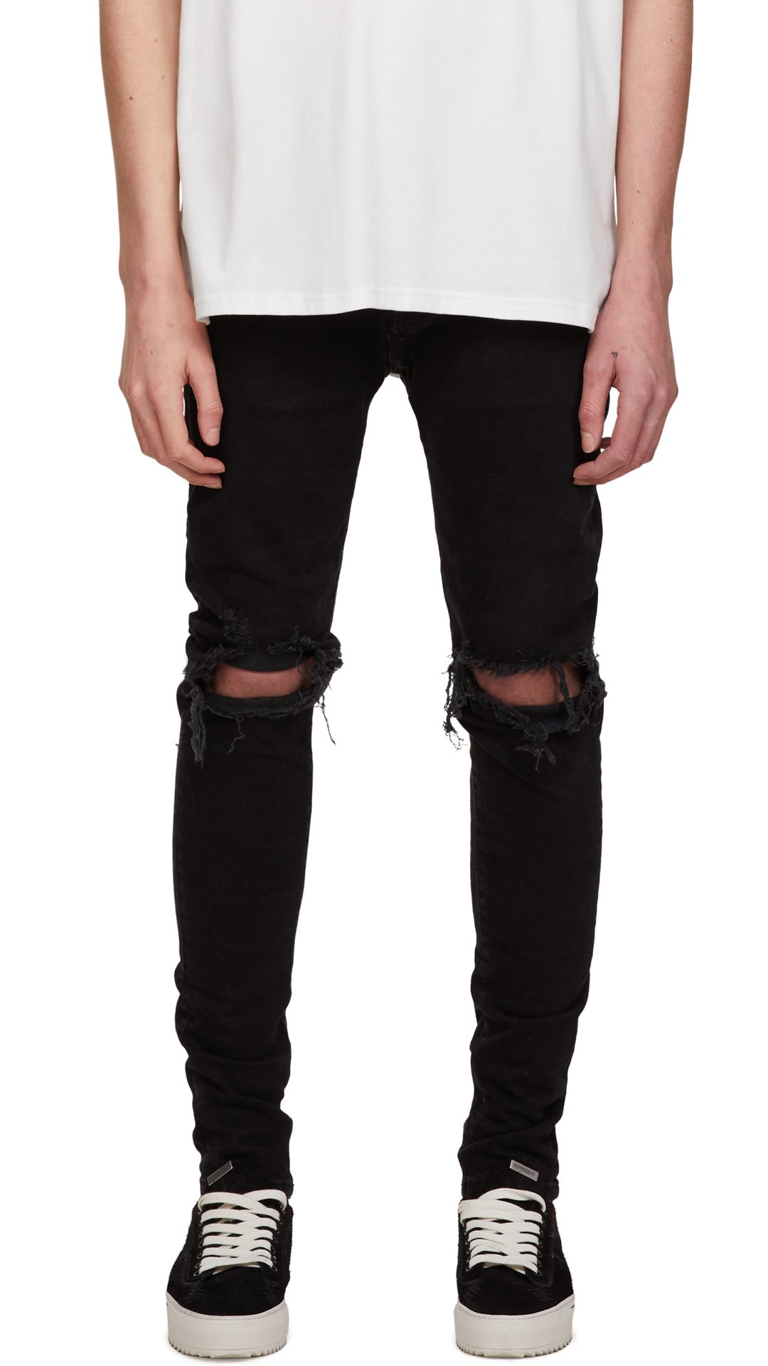 Black Ripped Denim from representclo.com
