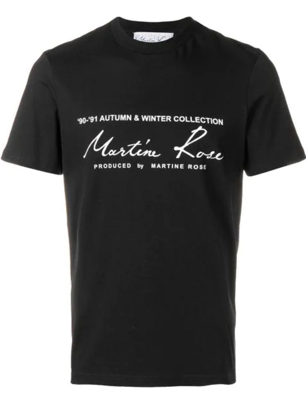 Martin Rose T-Shirt from farfetch.com