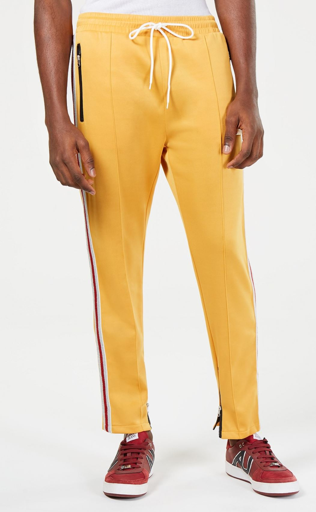 Golden Track Pants from macys.com