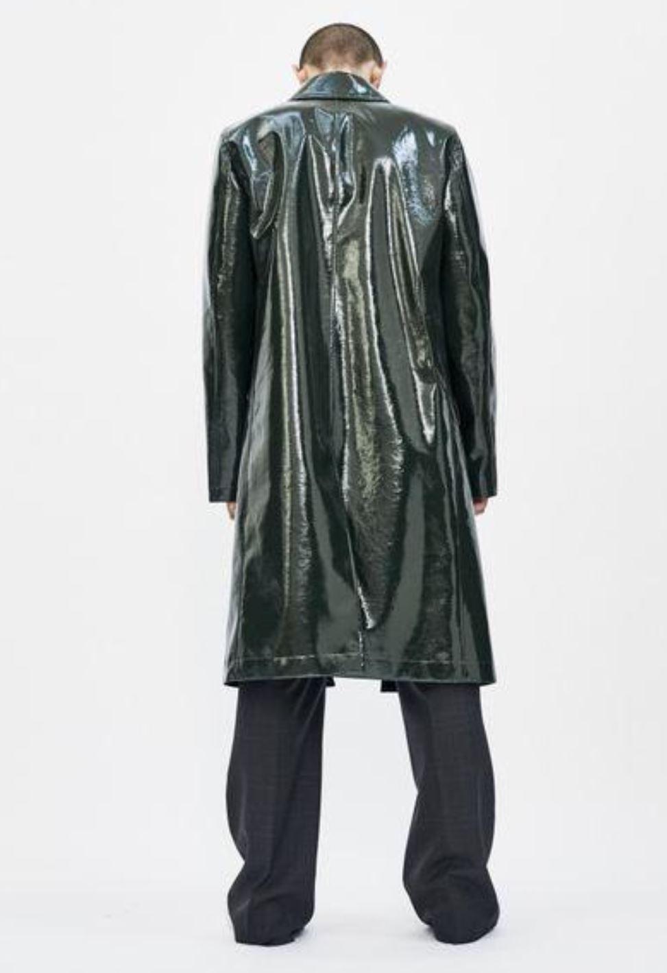 Leather Coat from karissabakaas.ca