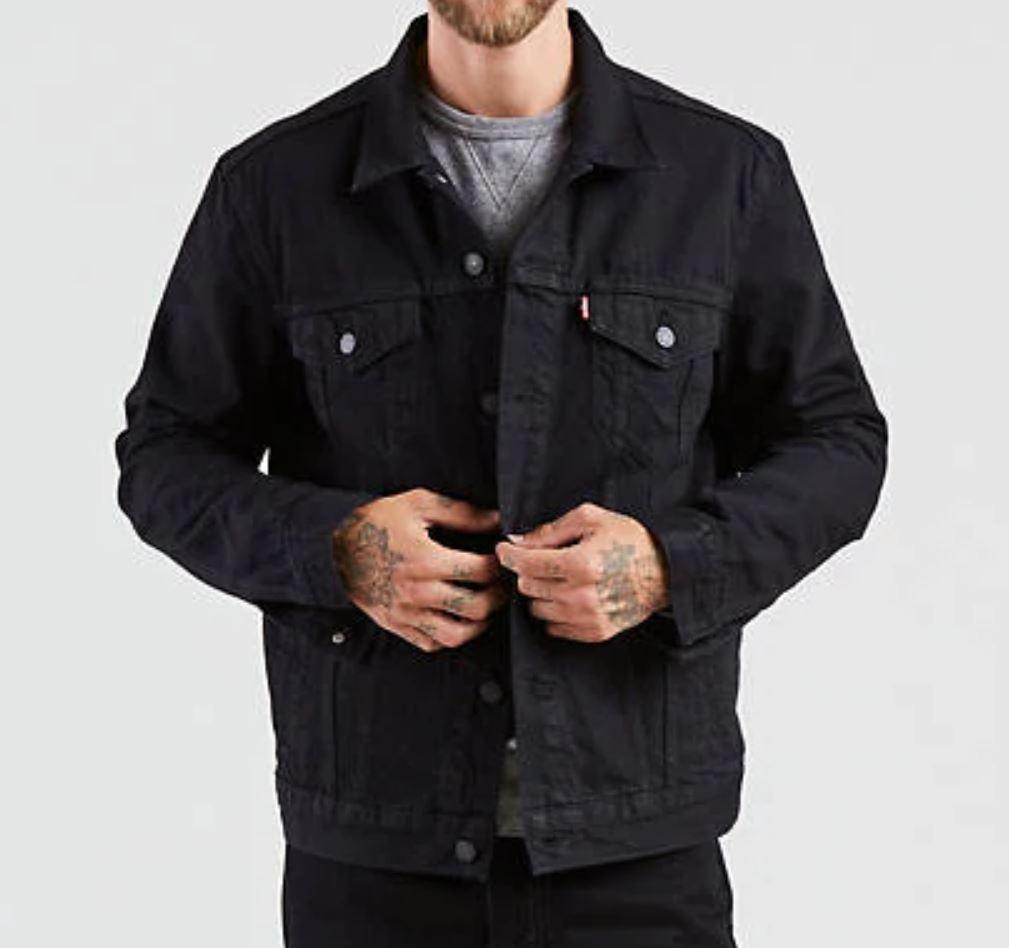 Black Denim Jacket from levi.com