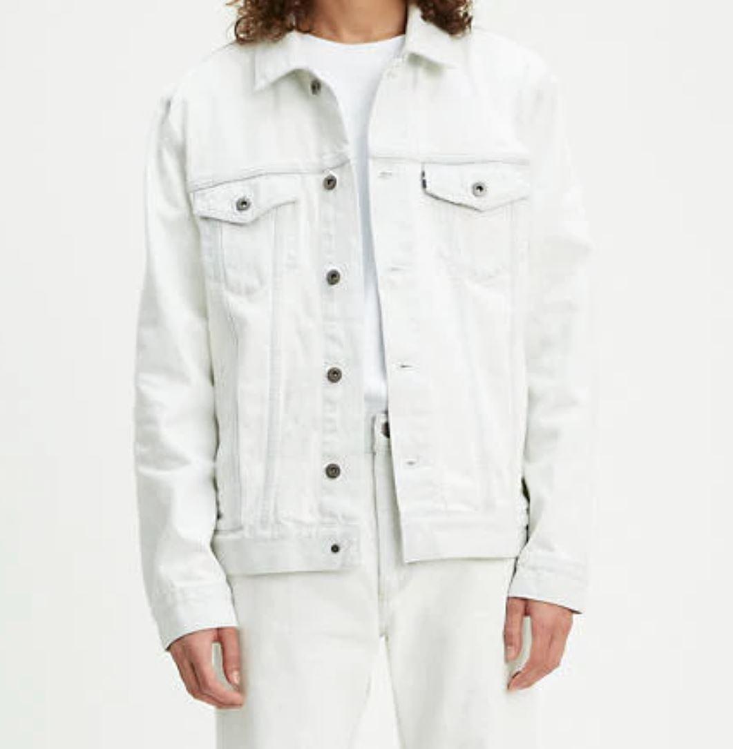 White Denim Jacket from levi.com