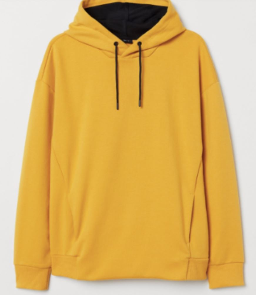 Yellow Hoodie from sg.carousell.com