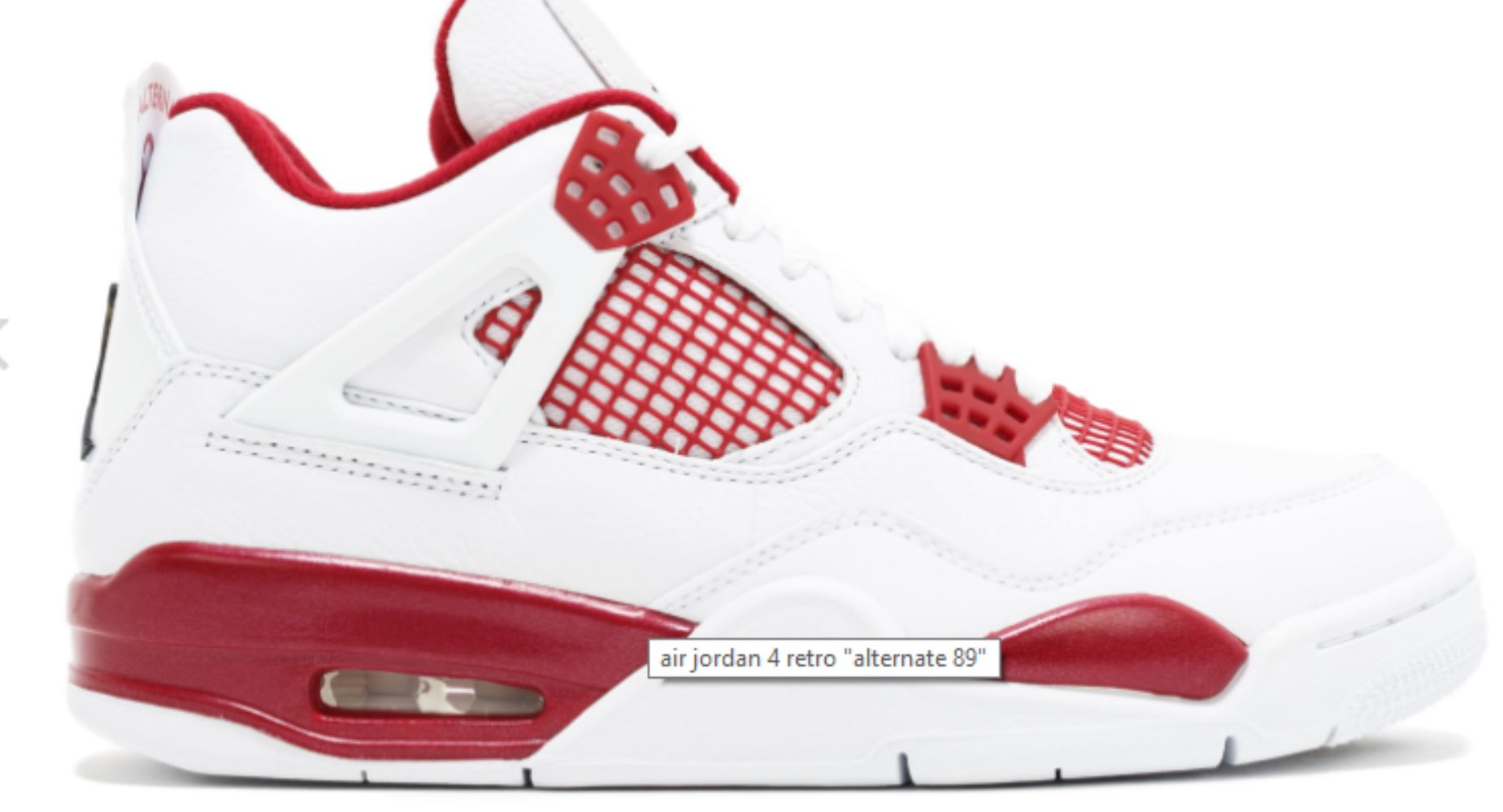 White Sneakers Nike from flightclub.com