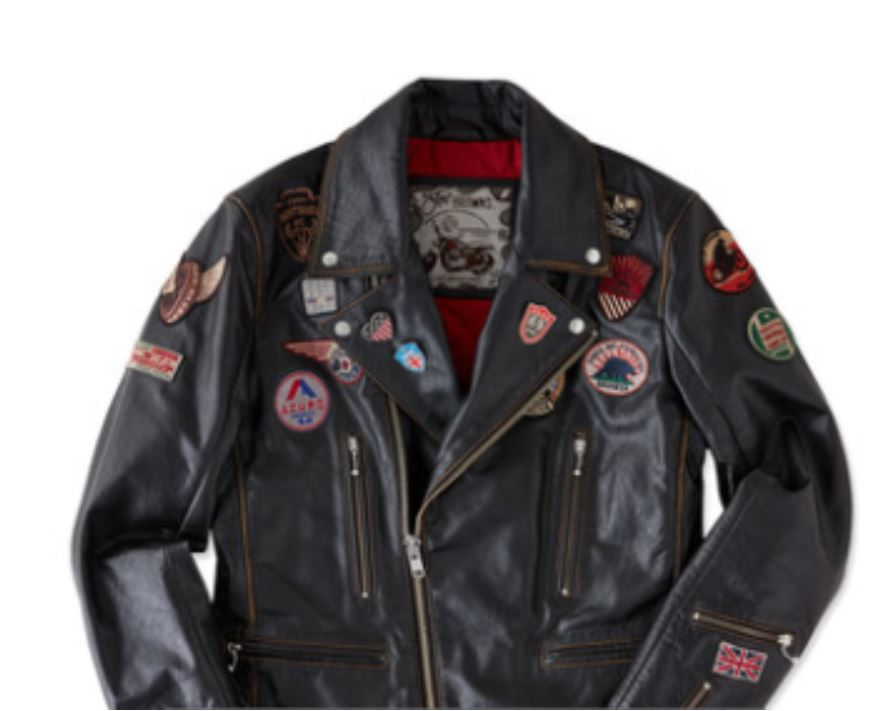 Black Leather Jacket from joebrowns.co.uk