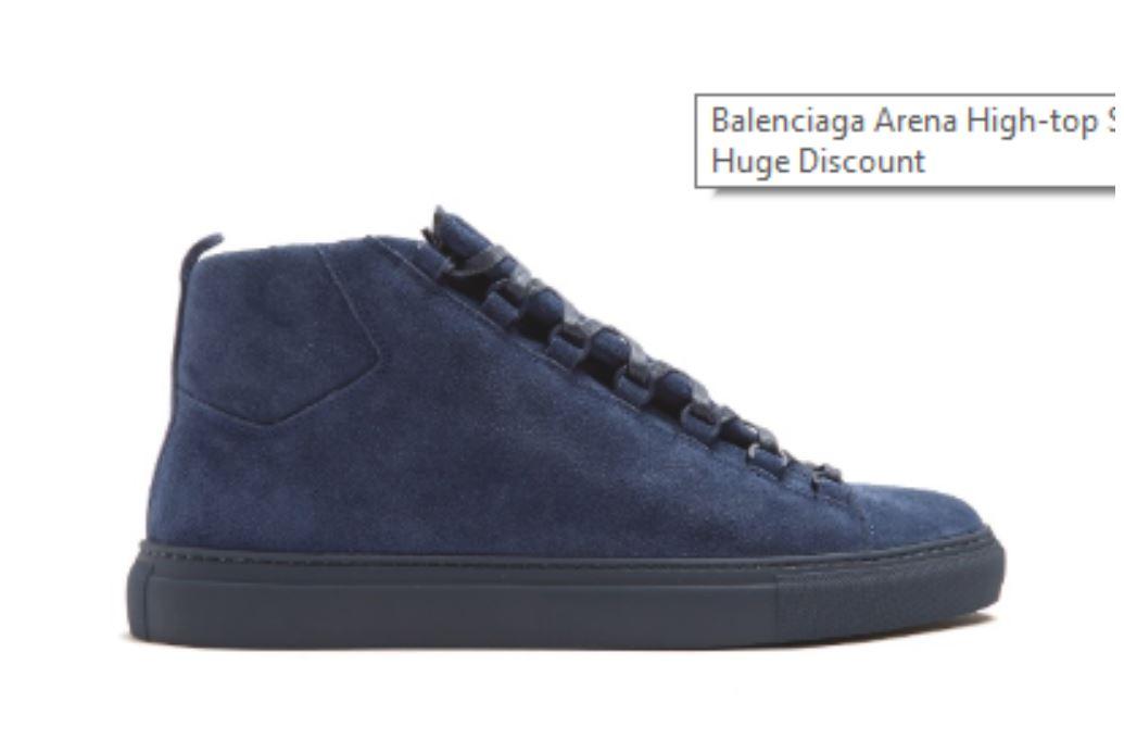 Blue Sneakers from loscayapas.com