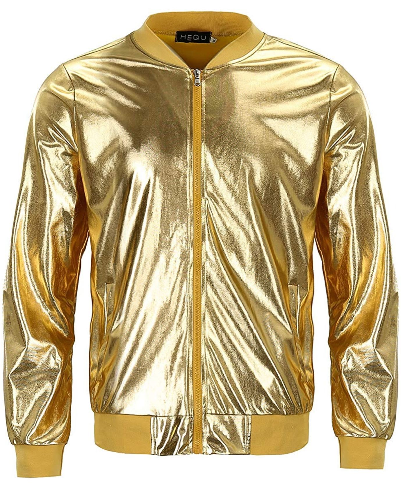 Gucci Metallic Bomber Jacket from amazon.com