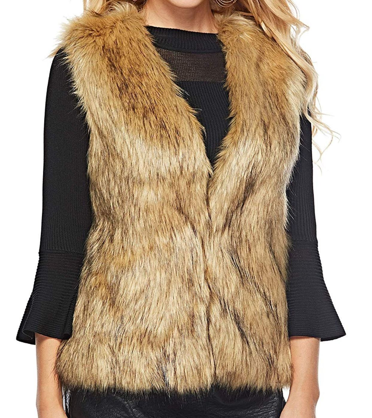 Fur Vest from amazon.com