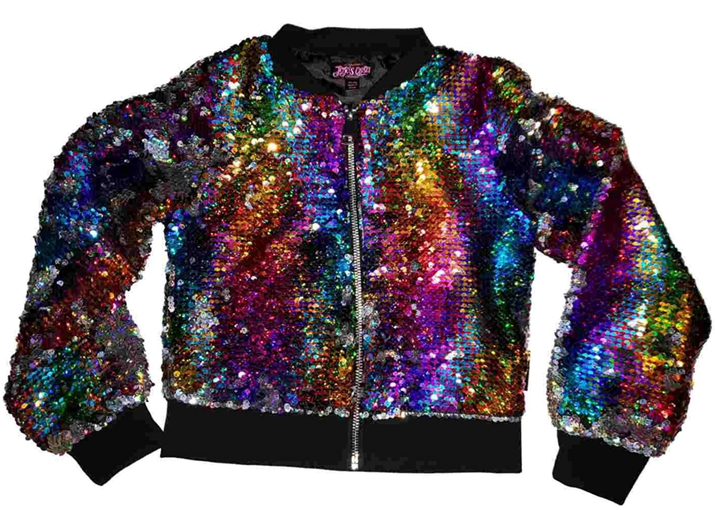 Rainbow Glitter Jacket from amazon.com