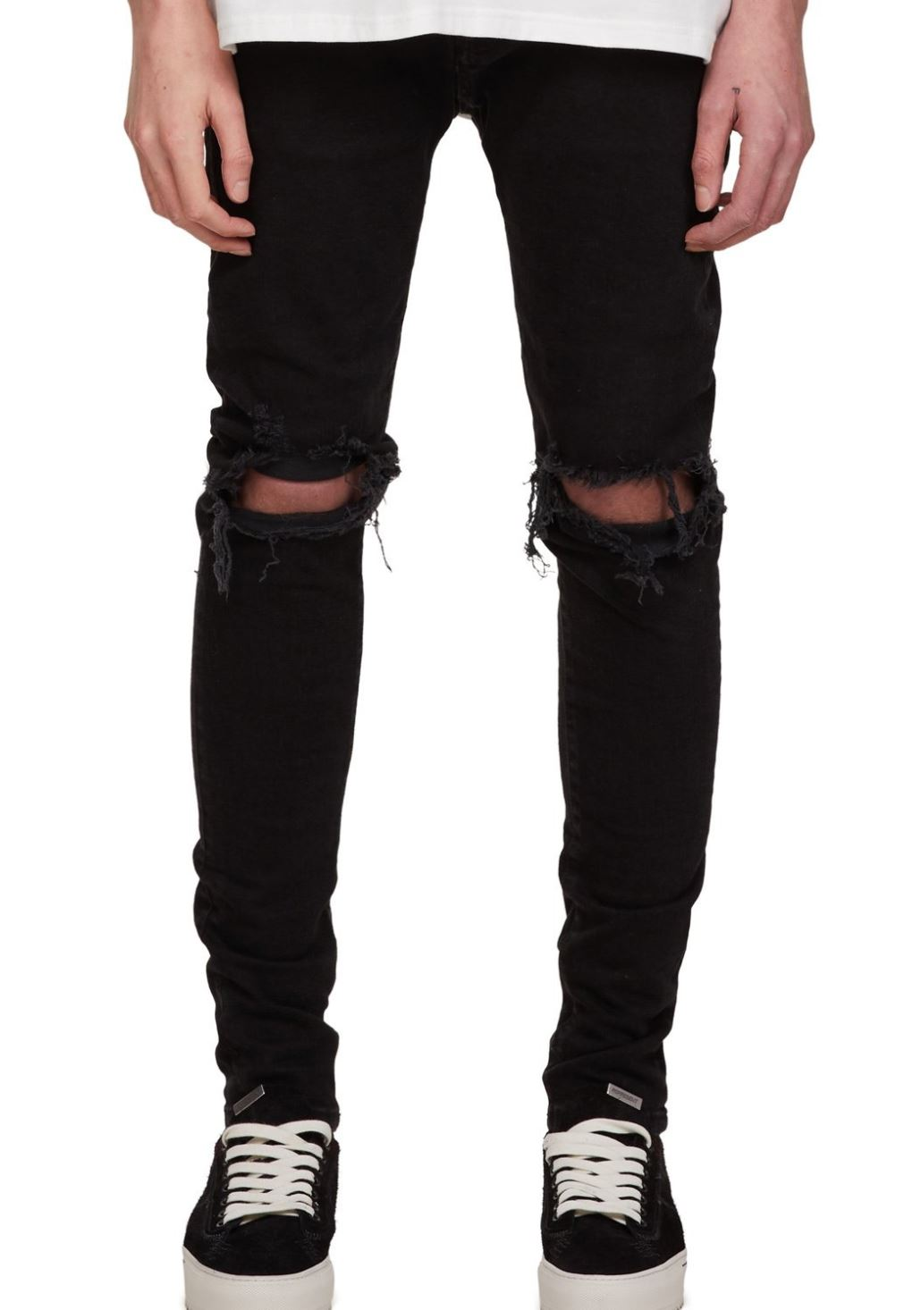 Ripped Black Jeans from representclo.com