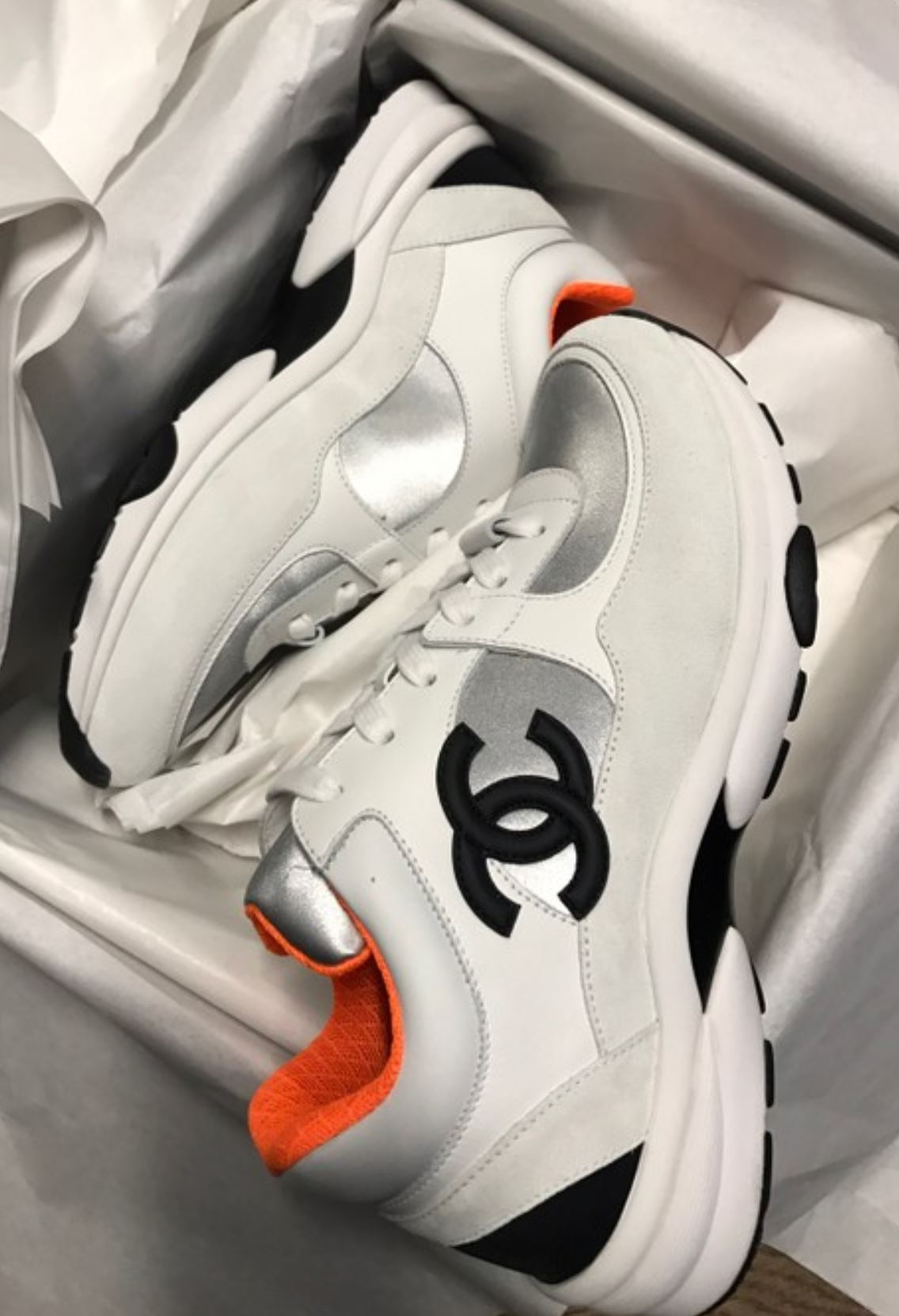 Chanel Sneakers from grailed.com