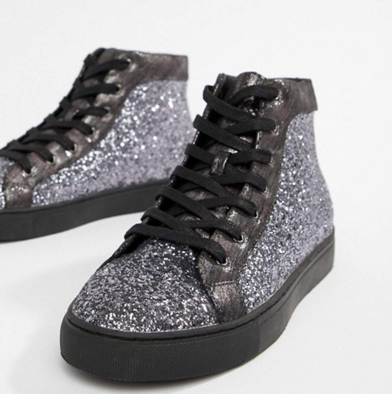 Glittered Sneakers from asos.com