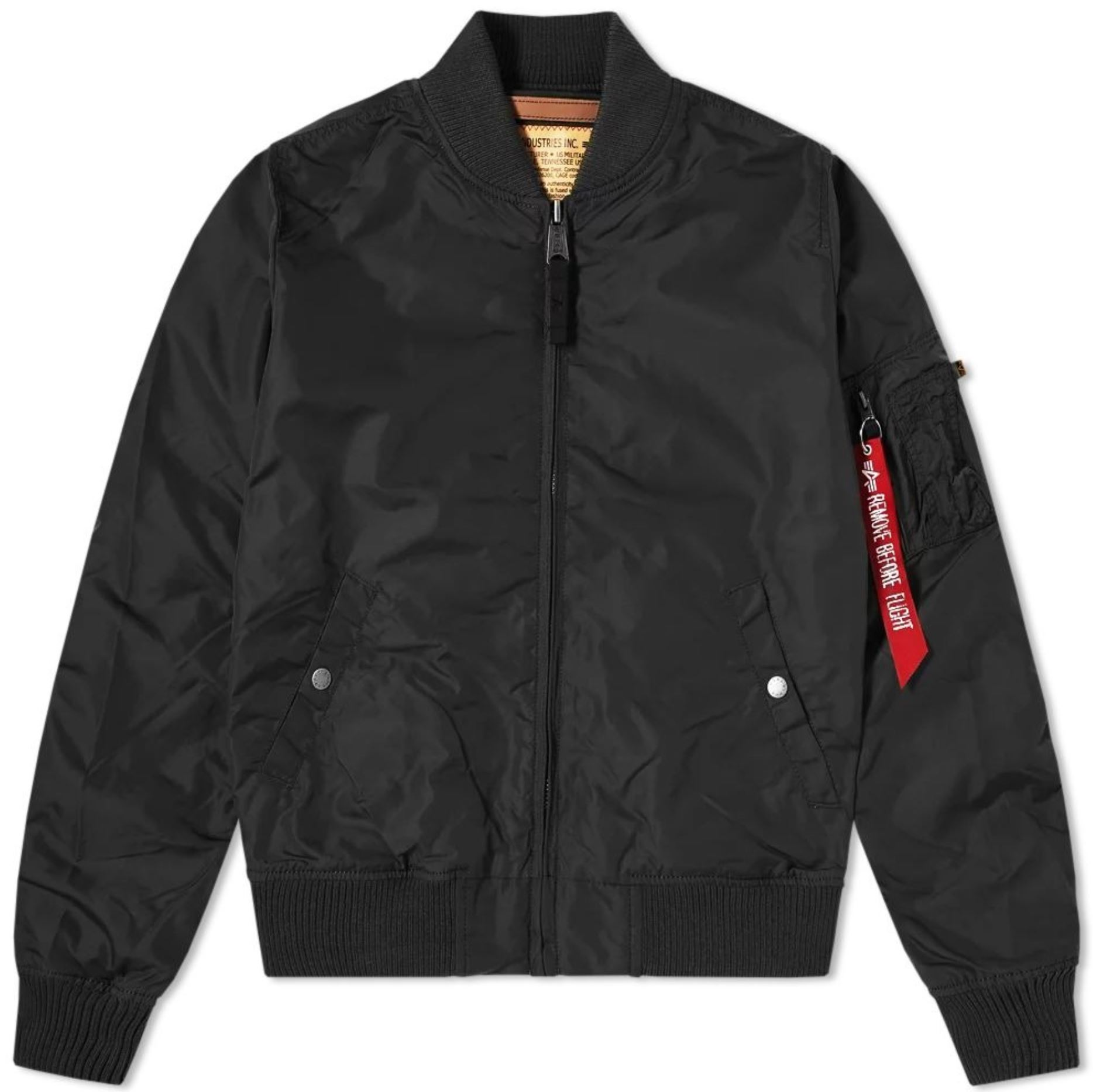 Black Bomber Jacket from endclothing.com