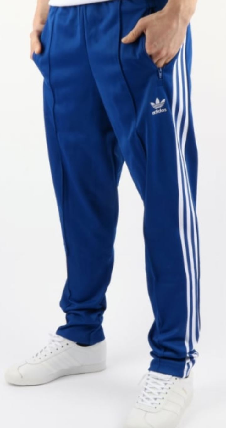 Blue Adidas Sweatpants from 80scasualclassics.co.uk