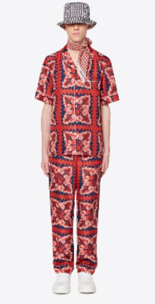 Red Suit from valentino.com
