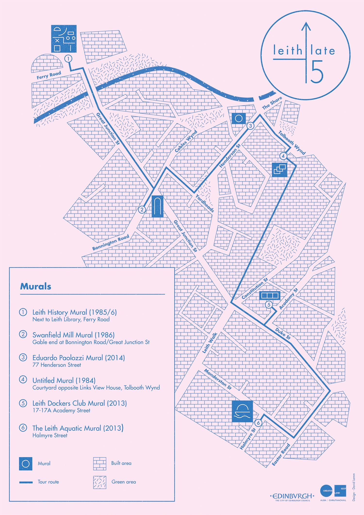 Mural Tour map_bold