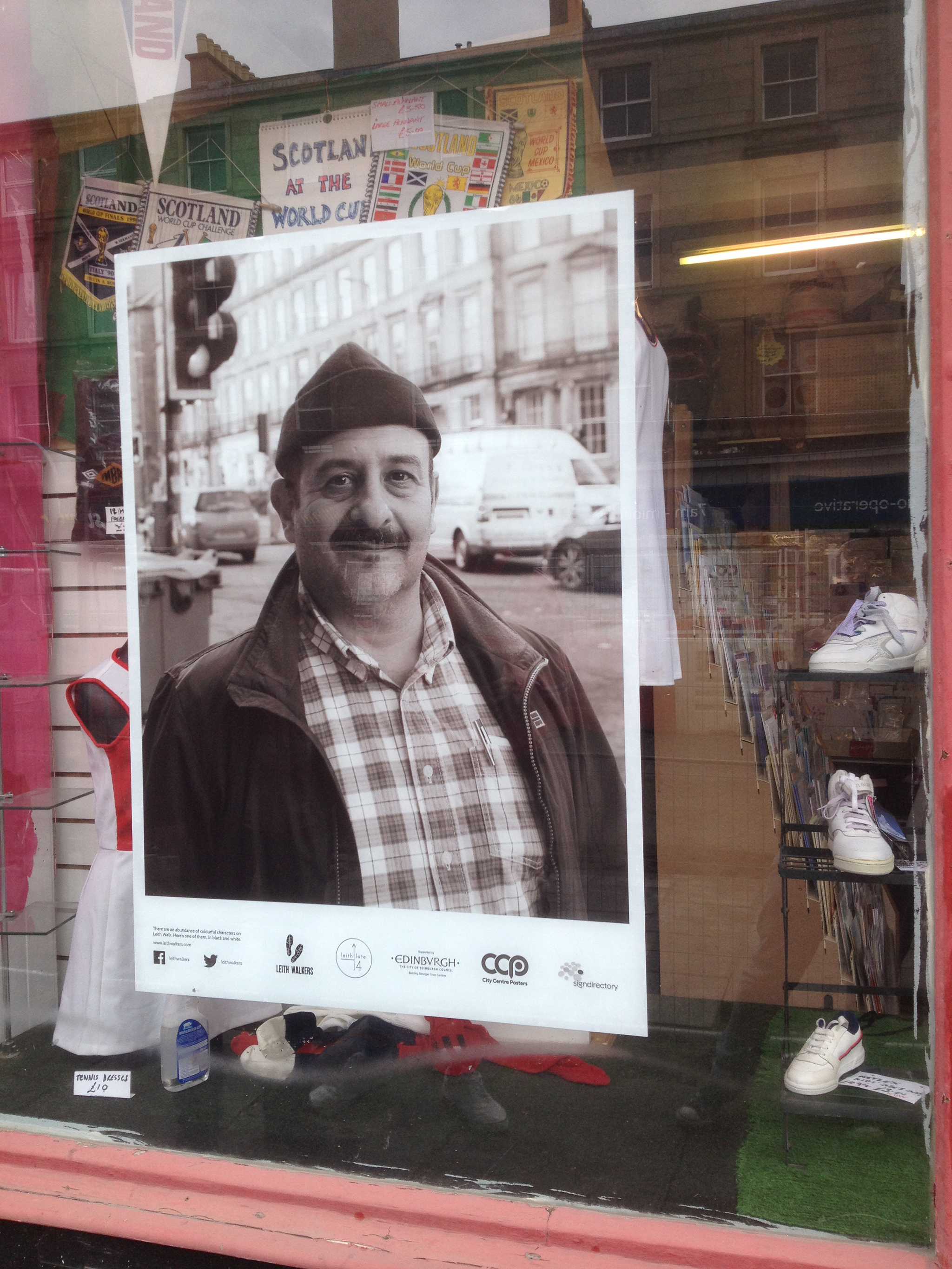 Leith Walkers Outdoor Exhibition