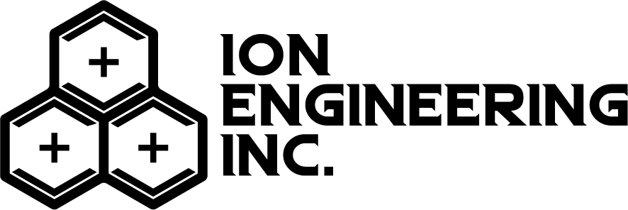 Ion Engineering white footer logo