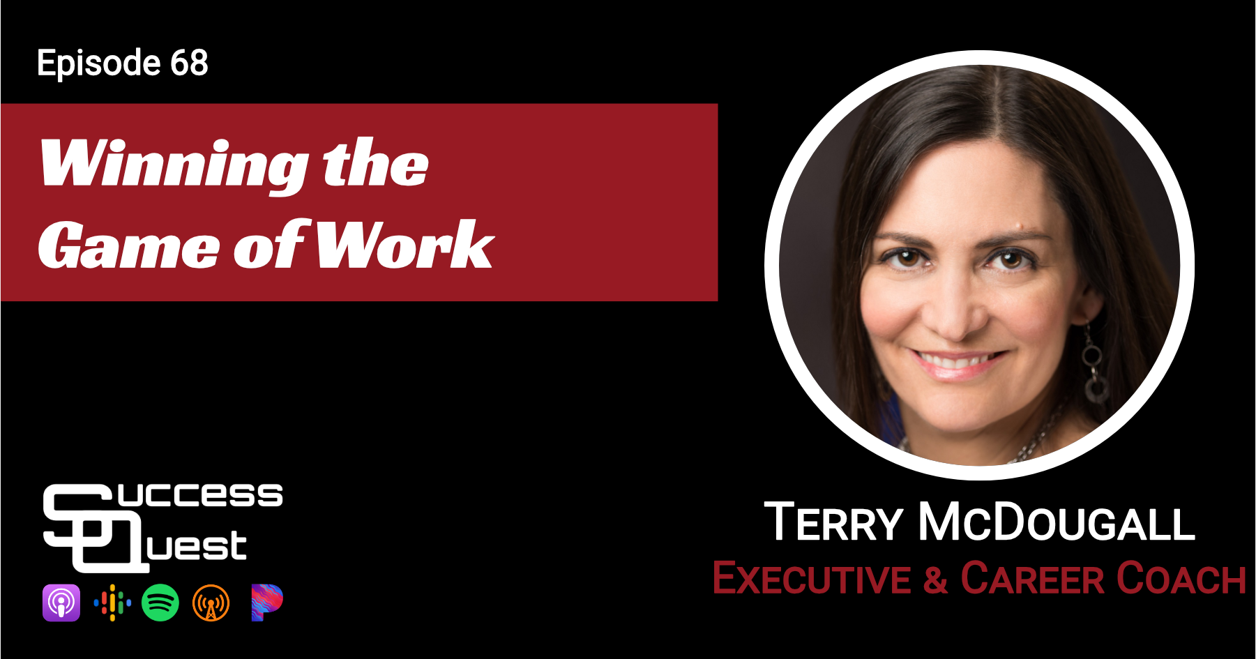 Winning the game of work Terry McDougall SuccessQuest Podcast