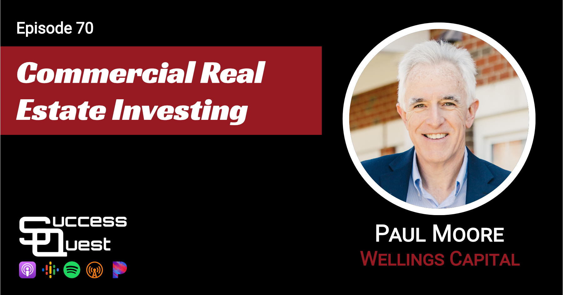 Commercial Real Estate Investing Paul Moore Wellings Capital SuccessQuest