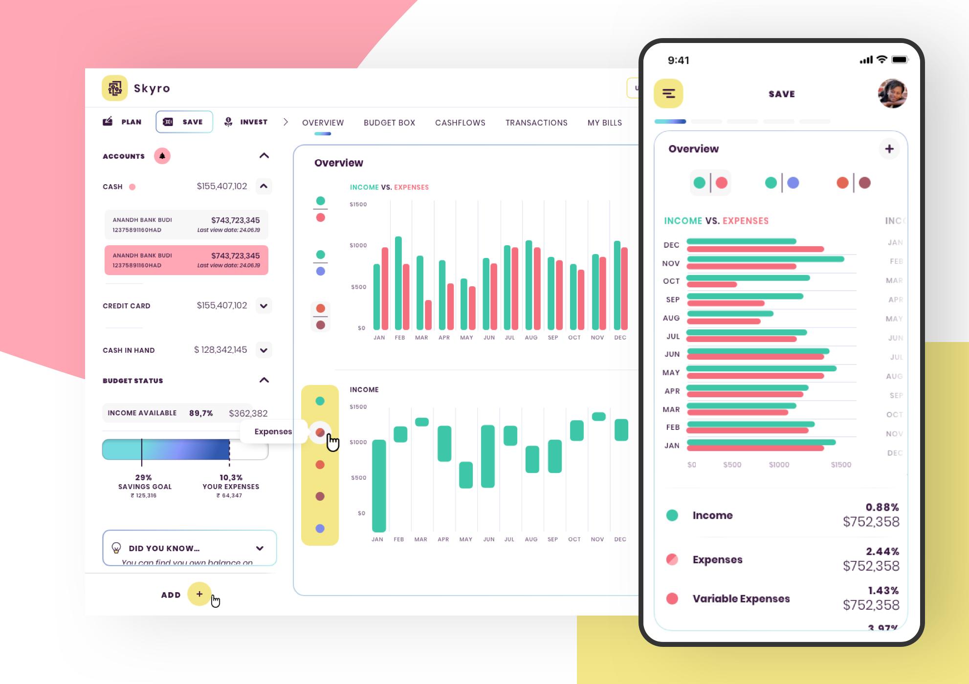 Financial App 1