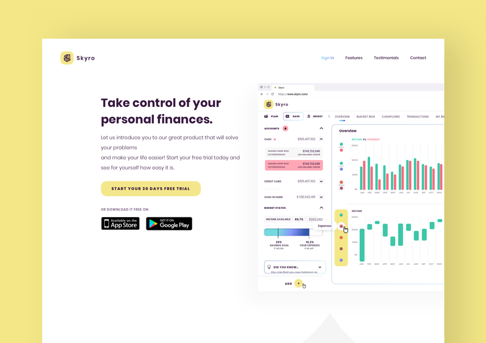 Financial App 4