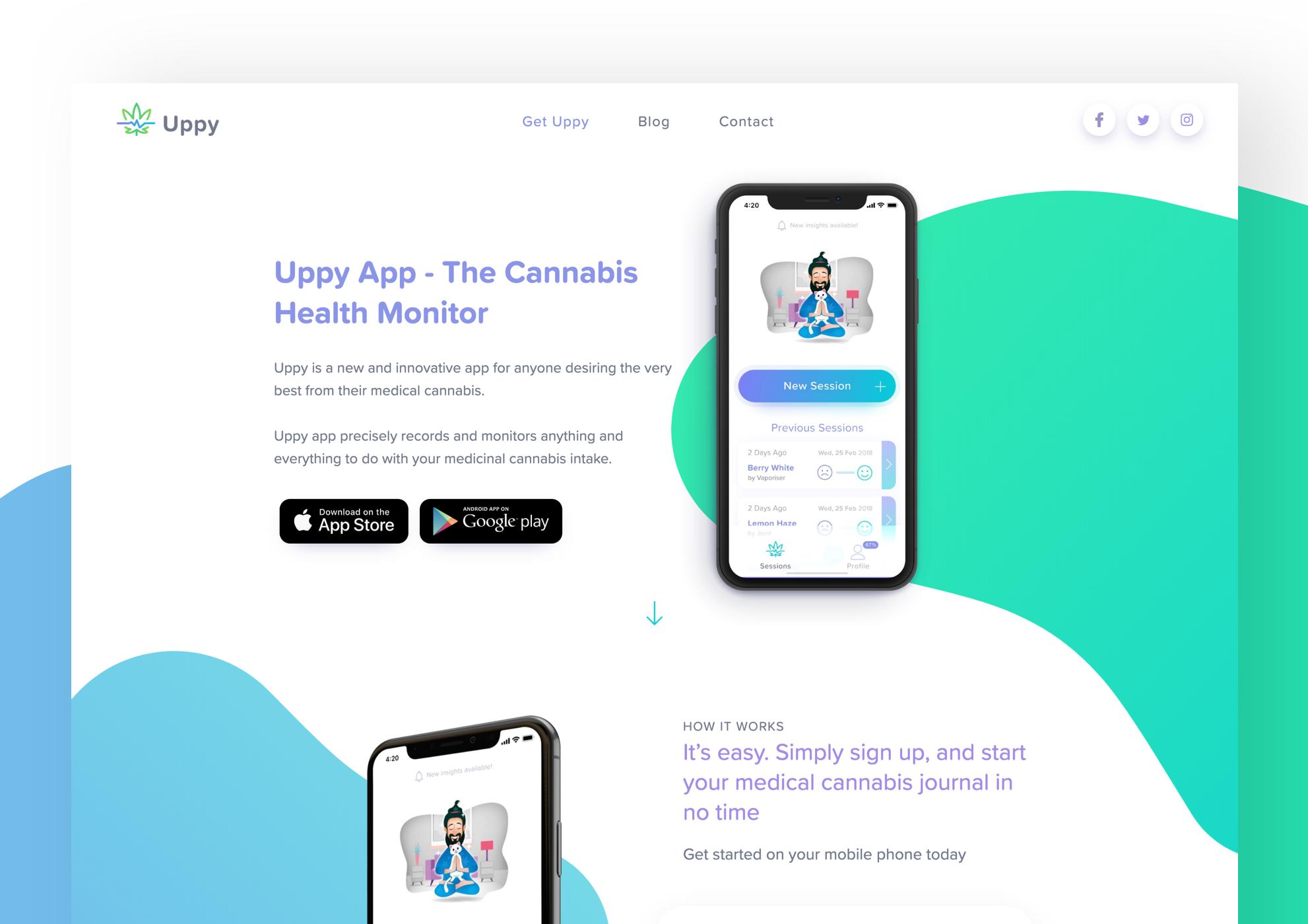 Startup Website Design 1