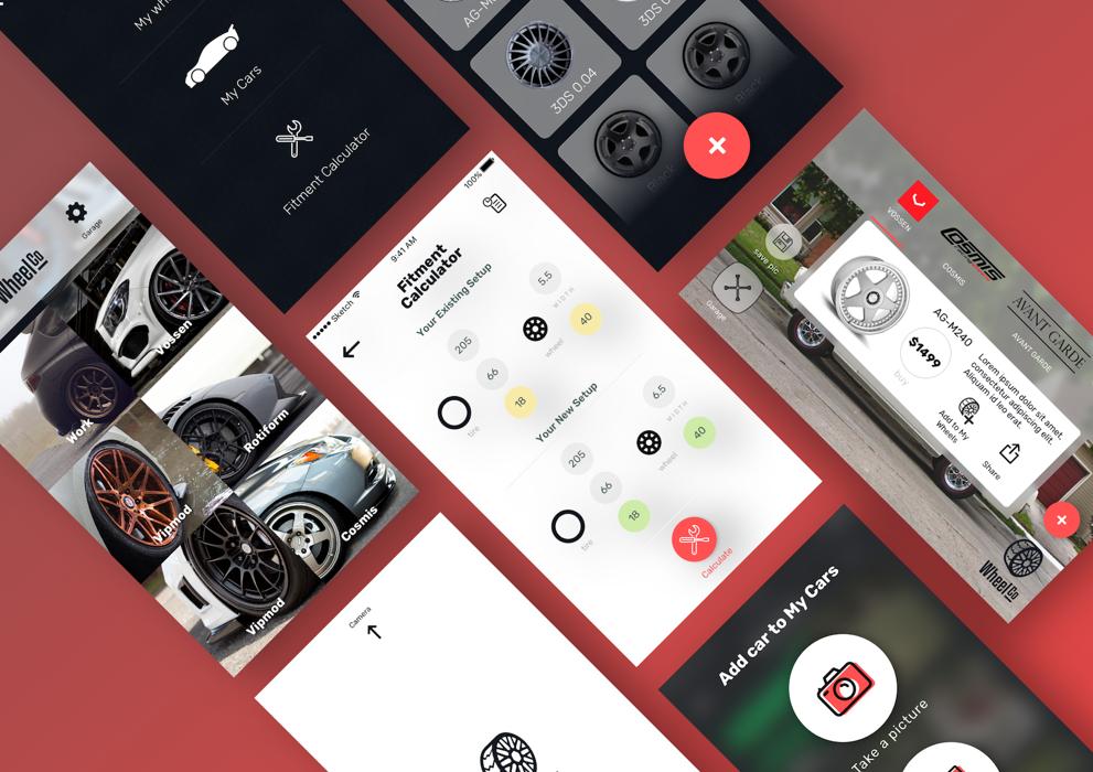 Car wheel App 1